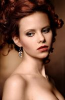 Lady Red portrait by uniqueProject