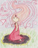 Flame Princess, with love~ by kitteneyes207