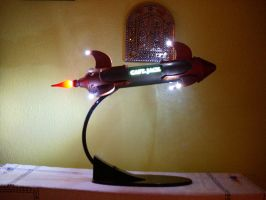 Rocket Night Light by PrototypeDept