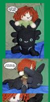 Toothless and Hiccup Amigurumi by kathy-vicki