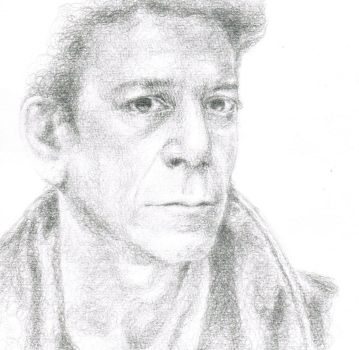 Lou Reed by Paleosonic