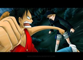 RRS : Rene VS Luffy by renealexa-diary