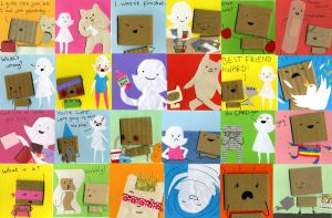 My Cardboard Life collection by philippajudith