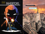 Inheritors 1 cover and page 1 by xmoor