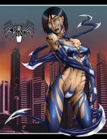 GJ Venom -pin up- by ginsujustice