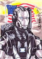 War Machine ACEO by micQuestion
