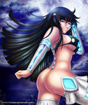 Satsuki night swim by Xiraus