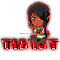 :Chibi: Tia'iat - Don't touch by KirCorn