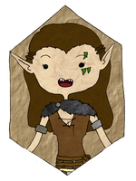 My Wood Elf by DrisanaRM