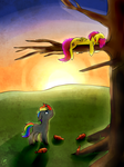 Drunk And Up A Tree - Commission by Lizzyoli-Ravioli