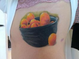 Bowl of Oranges by truth-is-absolution
