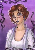 ACEO 49: Purple song by Forunth