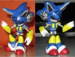 Custom Commission: Mecha Sonic by Wakeangel2001