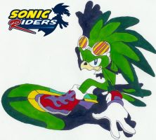 Jet the Hawk :: T94 by Sonic-Riders-Club