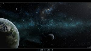 Distant Earth II by tumasch