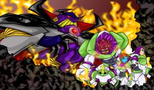 team lightyear and zurg by bunleungart