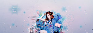 Blue snow by Jungyedolly