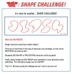 Shape Challenge Rules: 02-01-12 by JoeCostantini