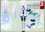.:Mass Effect 3 OC Ref + Profile:. by alexpc901