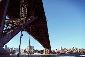 harbour bridge by artddicted