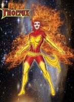 Dark Phoenix by ArtbyMiel