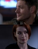 Dean/Charlie how he looks up to her by WinchesterRed