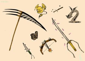Yaiba Weapons I by KR07