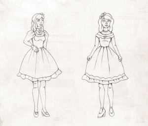 Lolita sketches 04 by Ninelyn