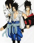 different sasukes by alpha89