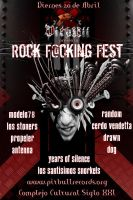 Rock F.cking Fest III preflyer by psikodelicious