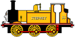 Stepney the Bluebell Engine V2 by sodormatchmaker