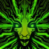 Redesign of Classic SHODAN's green face. by DeepChrome