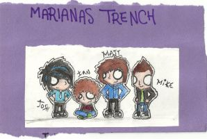 Marianas Trench :D by BatHeartsAreForever