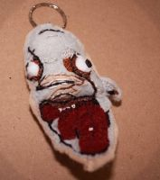 Amnesia: Dark Descent keyring 'Mr face' by Sheepy-Pie