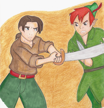 Peter vs Jim by girl-in-blue-dress