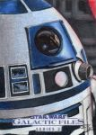 Star Wars GF S2 - R2-D2 Sketch Art Card by DenaeFrazierStudios