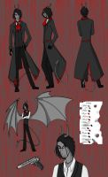 The City OCT: Merrick ref sheet by MisfitMagpie