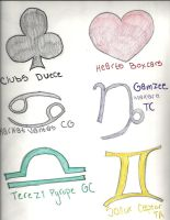 Homestuck Symbols Part 2 (WIP) by Mudfire4