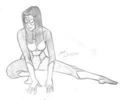 Daily Sketch: Spider-Woman 032915 by JRMurray76
