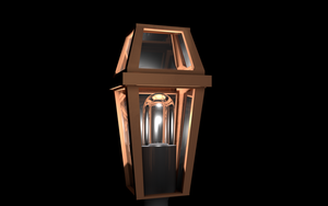 C4D - Streetlight 1 by Warmo161