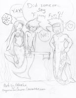 did some one say..FINNY FUN 8D by ImYourNumber1Moron