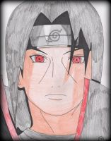 Itachi Uchiha by Oskar-Draws