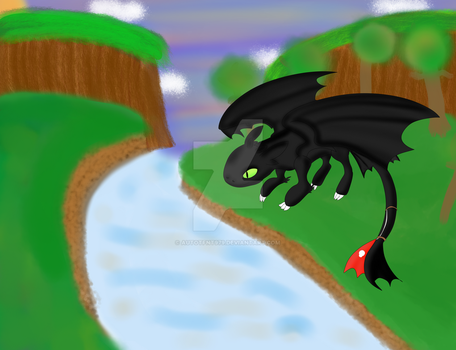 HTTYD: Toothless by AutoTFNT979