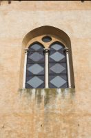 Lucca church window by enframed