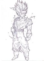ssj2 Vegeto by bloodsplach
