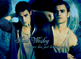 Stefan Salvatore-Wallpaper by Alexya16