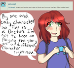 Character Questions of 2015 - ....Me? by TULAngel