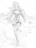 07102014 Supergirl by guinnessyde