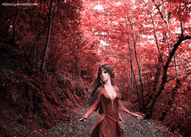 Red Forest by MHKrazy