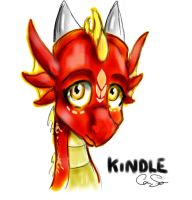 Kindle sketch by DragonCid